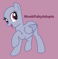 Come On, Let's go! - Pony Base by MonkFishyAdopts
