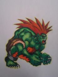 Blanka Version 2 by cavaloalado