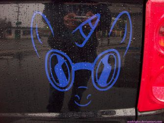 Vinyl Scratch Composite Decal - Applied by madrigles