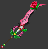 [Model preview] Lauriam's Keyblade - ExusiaSword by makaihana975