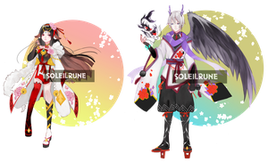 #1 Auction Adoptables [CLOSED TY] by SoleilRune