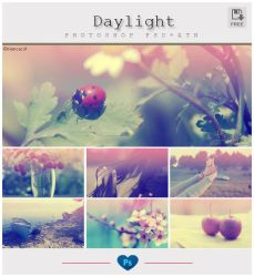 Daylight Photoshop PSD + ATN by friabrisa