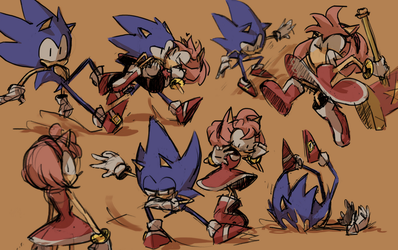 Sonic 01 by Lallelol