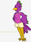 The one and only Peagle -Request! by Temmious