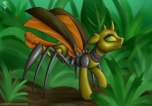 Beetle-pony by 6EditoR9