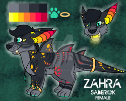 Zahra Reference by Rainbow-Moose