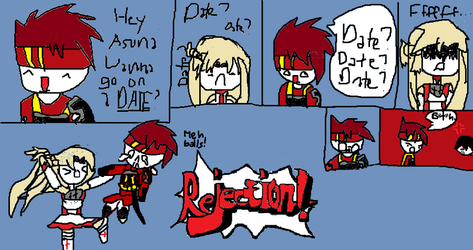 .:Rejection!:. by AnimezzLover08