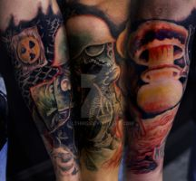 Army death sleeve by filthmg