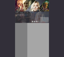 Free layout with Harley Quinn by Hrasulee
