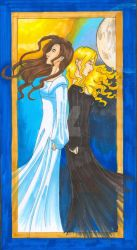 Kahlan and Nicci by GillyPerkyGoth