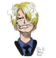 Sanji_colored by Silje91