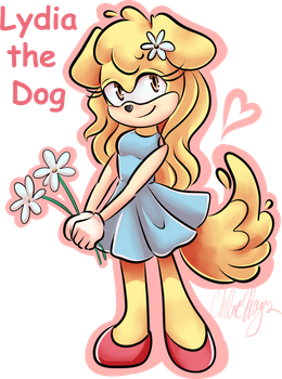 Lydia the Dog by frostykat13