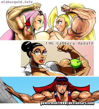 FMG Pack: Ino(vs)Sakura, Goddess, Teacher by powerman2000