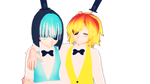 [MMD x Gravity and Reverse Falls] The Cipher Twins by KanekiAru