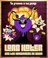 Lord Hater and the Harbingers of Doom by MaxvanDoorn