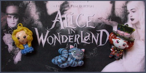 Chibi-Charms: Alice+Wonderland by MandyPandaa