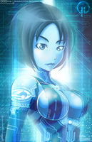 Halo 4 Cortana by Darkness1999th
