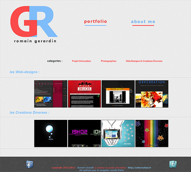 Mon Portfolio Officiel by orkcreation