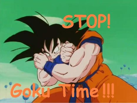 STOP Goku Time by LivelyArtist