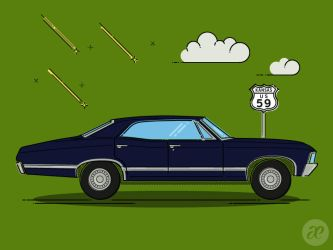 The Impala by pica-ae
