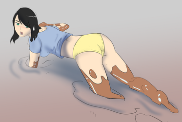 Quicksand Sinking Embarassment by Silkyfriction