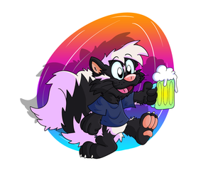 Swizzle Skunk by Hukley
