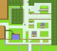 Viridian City in Pokemon Yellow for GBC by CK47