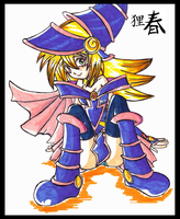 Yugi's Magical Maiden by HaruEta