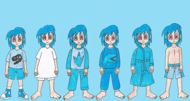 LBT Chompers outfits by Animedalek1