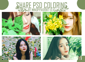[SHARE] PSD COLORING. by minoppa10987