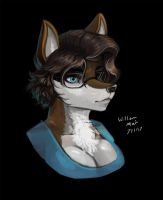 'Painting Studies - Wolf Girl' by WMDiscovery93