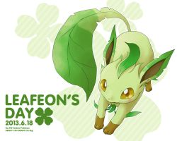 Leafeon's Day by needlepotter