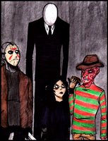 Meet the Slenderman by Cageyshick05