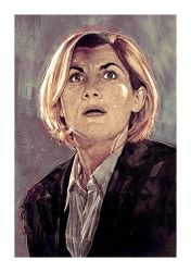 13th DOCTOR Jodie Whittaker by MrPacinoHead