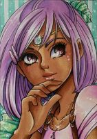 ACEO #66: Amirah by MTToto