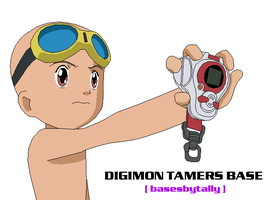 Digimon Tamers Male Base by basesbytally