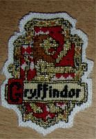 Embroidery: Gryffindor by Ronjaliek