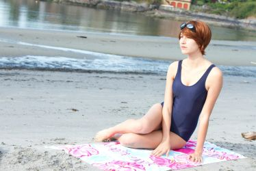 beach time by douzocosplay