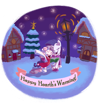 Happy Hearth's Warming by WizardWannabe