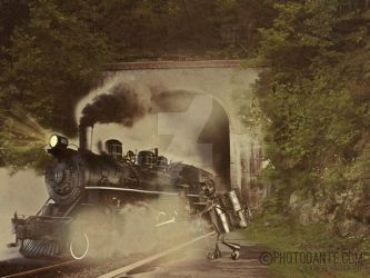 Get Aboard This Train by PhotosbyDante