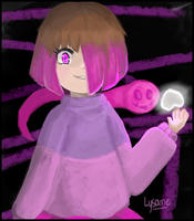 Betty and Akumu from Glitchtale by Lysame