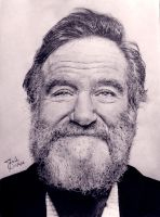 Robin Williams by SAibIRfan