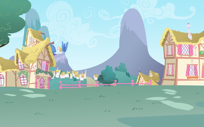 Ponyville Background by lightf4lls