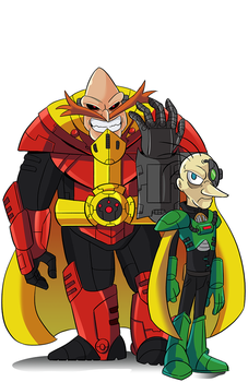 COMM: Robotnik and Snively by Chauvels