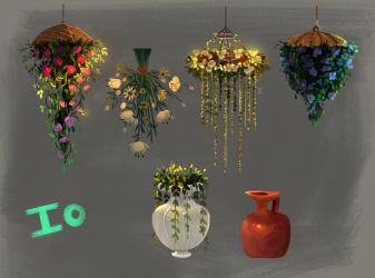 Io flower props by Tigermint