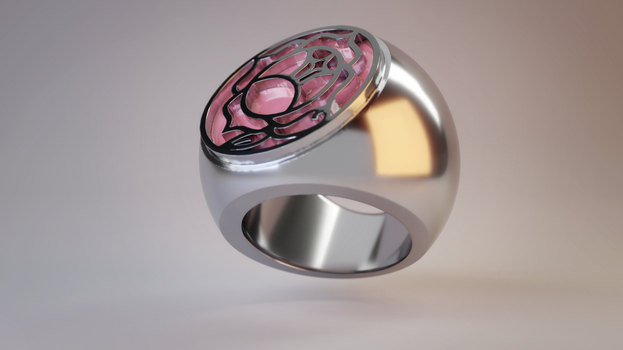 RGU/SKU Rose Seal Ring Render by Summoner-of-Mist