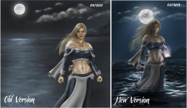 Sorcha by the Sea Comparison by SweetJeannie