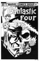 Fantastic Four #257 Cover Recreation by dalgoda7