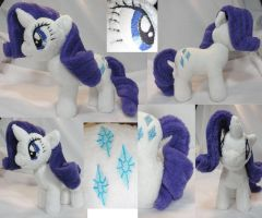 Rarity Plush more views by Cryptic-Enigma