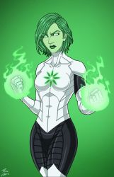 Jade (Earth-27) commission by phil-cho